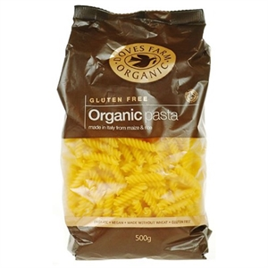 Doves Farm GF Org Maize & Rice Fusilli 500g