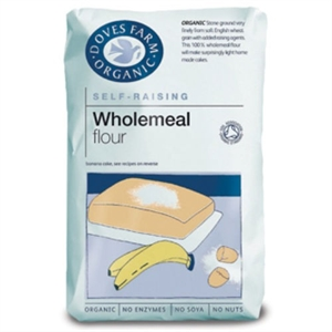 Doves Farm Org Self Raising W/Meal Flour 1000g