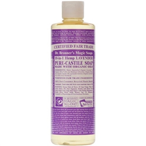 Dr Bronner Lavender Castile Liquid Soap 237ml