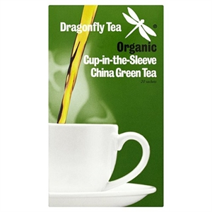 Dragonfly Tea Emerald Mountain Org Green Tea 20 sachet