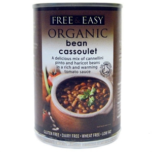Buy Free Natural Organic Bean Cassoulet 400g
