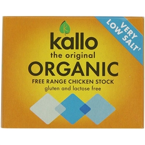 Kallo Org Chicken Stock Cubes L Salt 51g