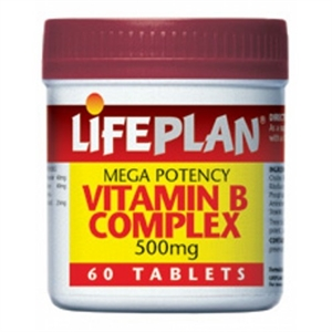 Lifeplan B Complex Mega Potency 60 tablet