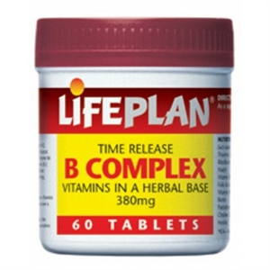 Lifeplan B Complex Time Release 60 capsule