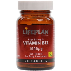 Lifeplan Vitamin B12 Sublingual 30 tablet