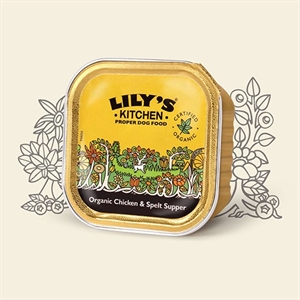 Lilys Kitchen Dog Organic Chick Supper 150g