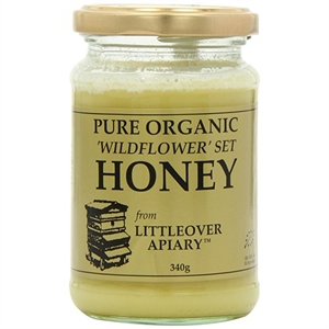 Littleover Apiaries Organic Set Wildflower Honey 340g