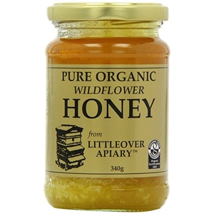 Littleover Apiaries Organic Wildflower Clear Honey 340g