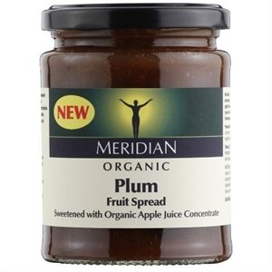 Meridian Org Plum Fruit Spread 284g