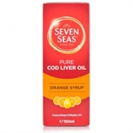 Seven Seas Orange Syrup & Cod Liver Oil Liquid - 150ml