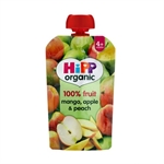 Hipp Mango Apple & Peach 100g